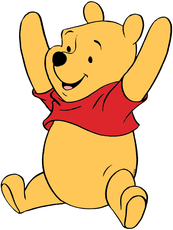 graphic black and white Winnie the pooh clipart. Clip art disney galore.