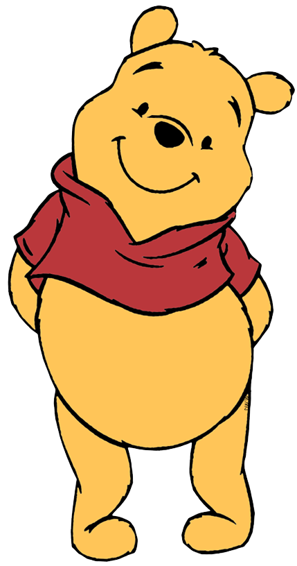 banner black and white download Clip art disney galore. Winnie the pooh clipart