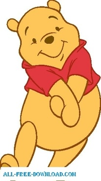 vector free Pictures free vector download. Winnie the pooh clipart winney