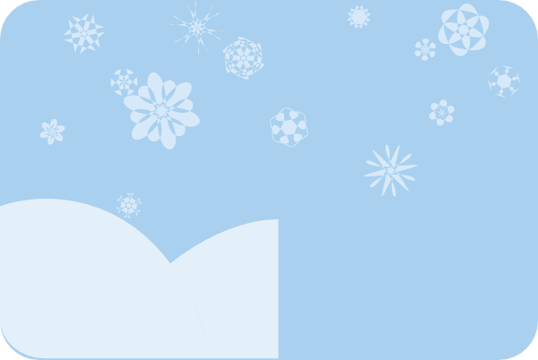 jpg transparent library Light Blue Winter Background Clip Art at Clker