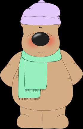 clipart freeuse Winter Bear Clip Art
