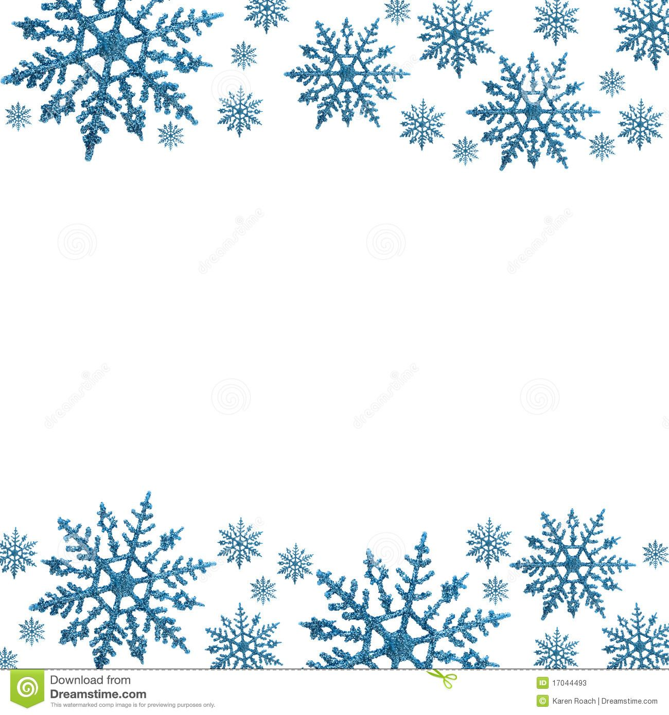 image Winter borders clipart. Border free large images.