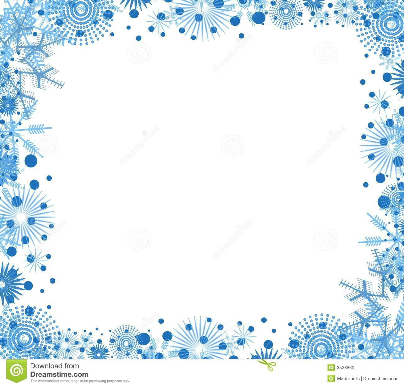 graphic transparent download Winter borders clipart. Clip art free christmas.