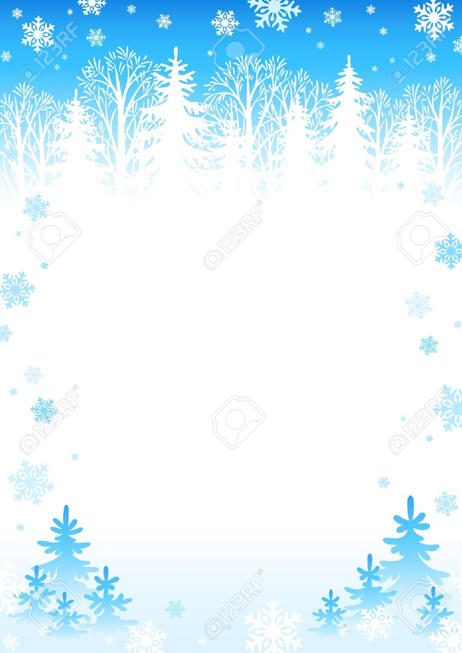 svg black and white  free clip art. Winter borders clipart