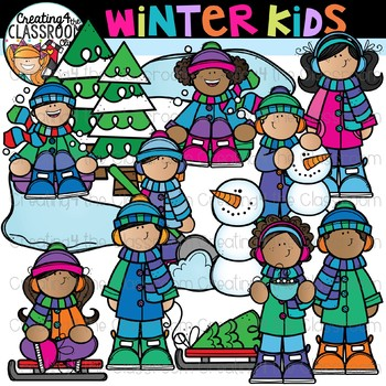 clipart library library Winter clipart for kids.