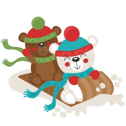 banner free Winter polar bear clipart.  collection of high