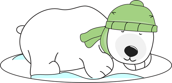 jpg free  collection of cute. Winter polar bear clipart
