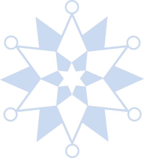 clip art library stock Winter Snowflake Pattern