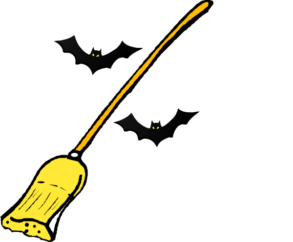 clip art freeuse download Witch S Broom Clip Art at Clker