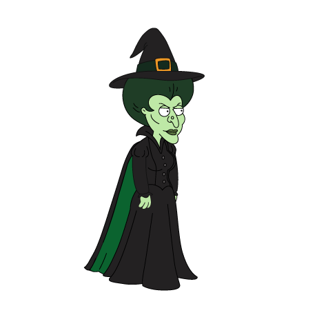 clipart royalty free download  wicked of the. Witch svg west