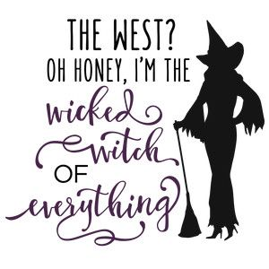 image royalty free download Witch svg west. Pin on lol worthy