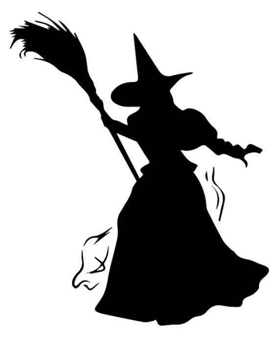 free stock Pin by sheryl springer. Witch svg west