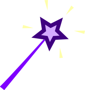image royalty free stock Wizard clipart wand. Purple clip art at