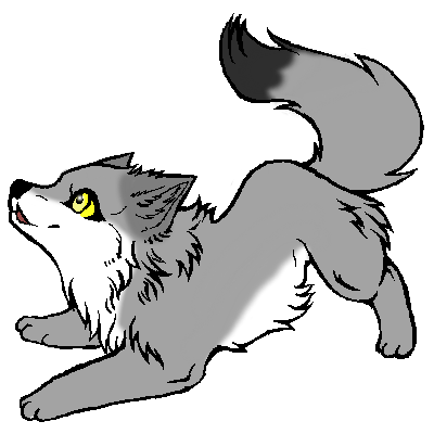 vector freeuse wolves clipart wolf pup #53553805
