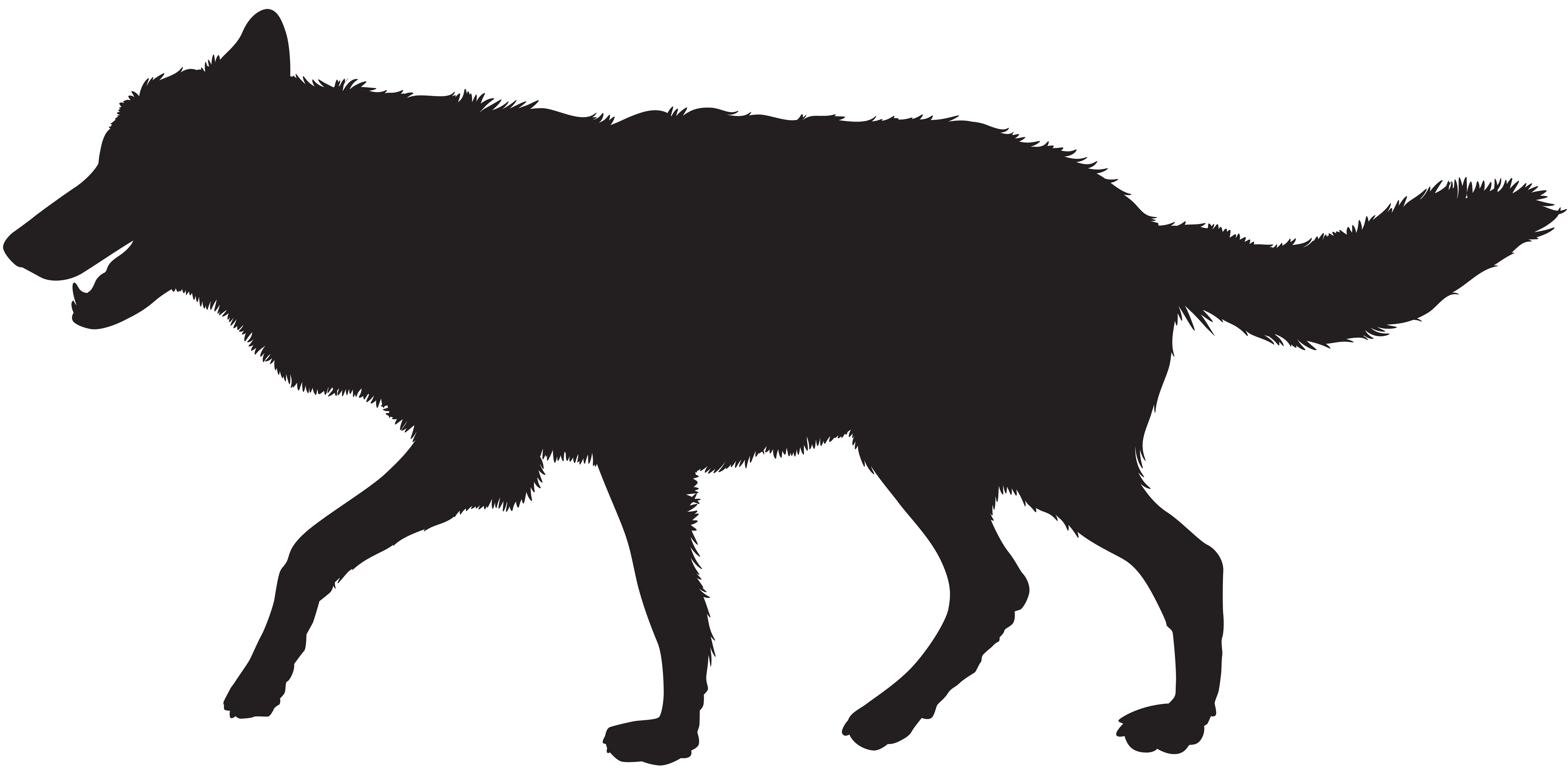 clipart royalty free download Wolf clipart png. Silhouette clip art image