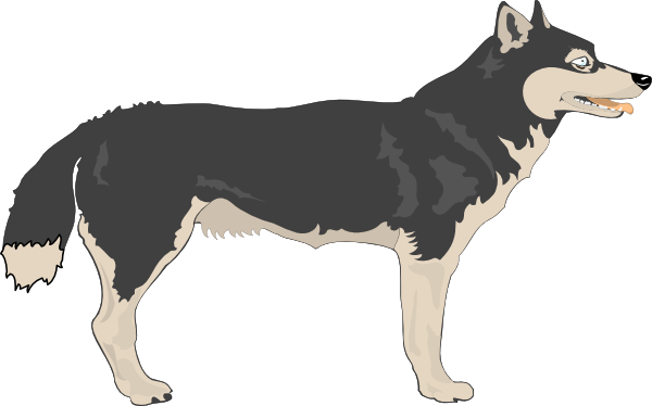 jpg transparent library Wolf clipart png. Clip art at clker