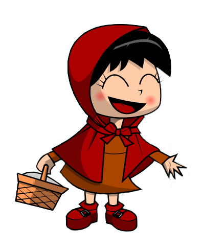 clip black and white  collection of little. Wolf clipart red riding hood