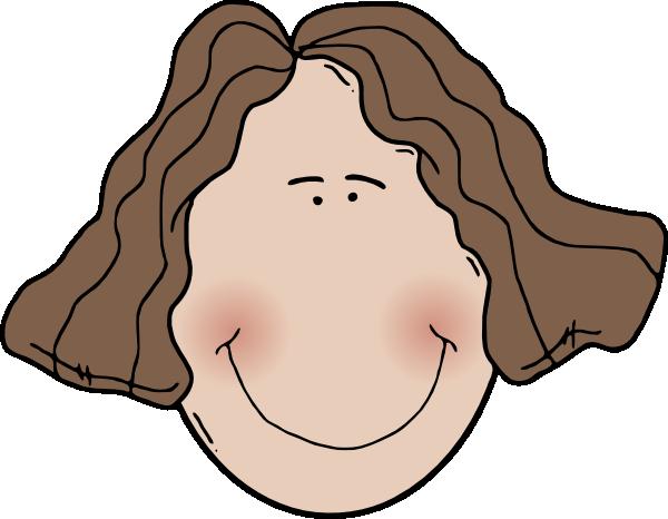 image transparent Lady Face Clip Art at Clker