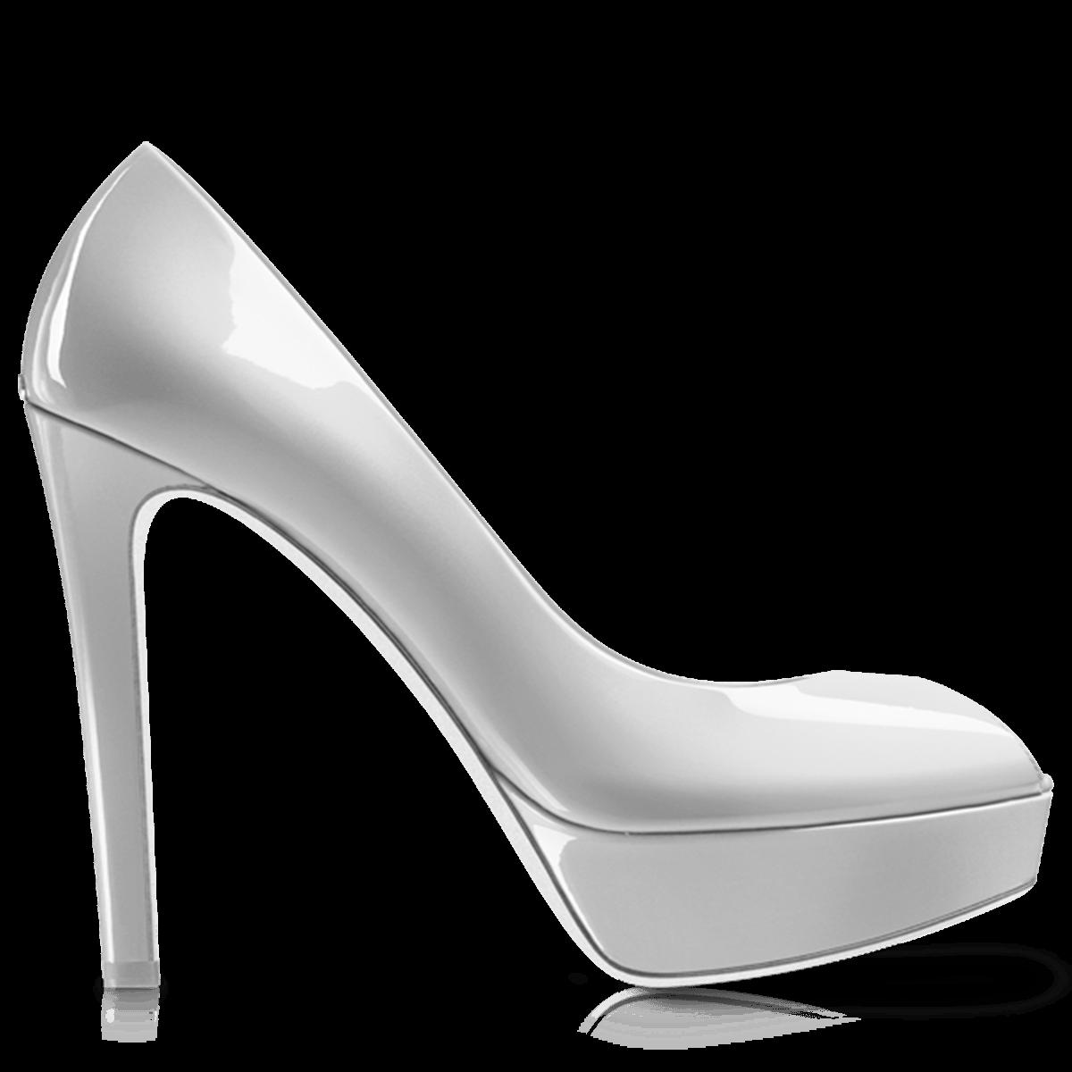 image freeuse download White Heel Women Shoe transparent PNG
