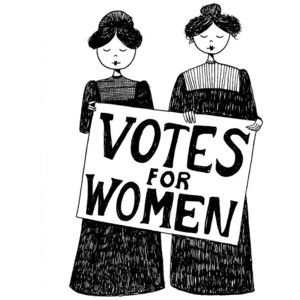 png black and white download Women vote clipart. Image result for suffragette.