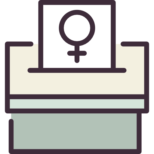 svg royalty free stock Women vote clipart. Icon png svg