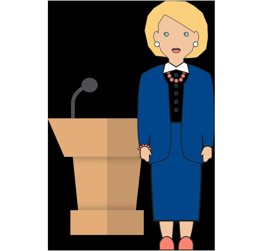 free download debate clipart female mayor #77990128