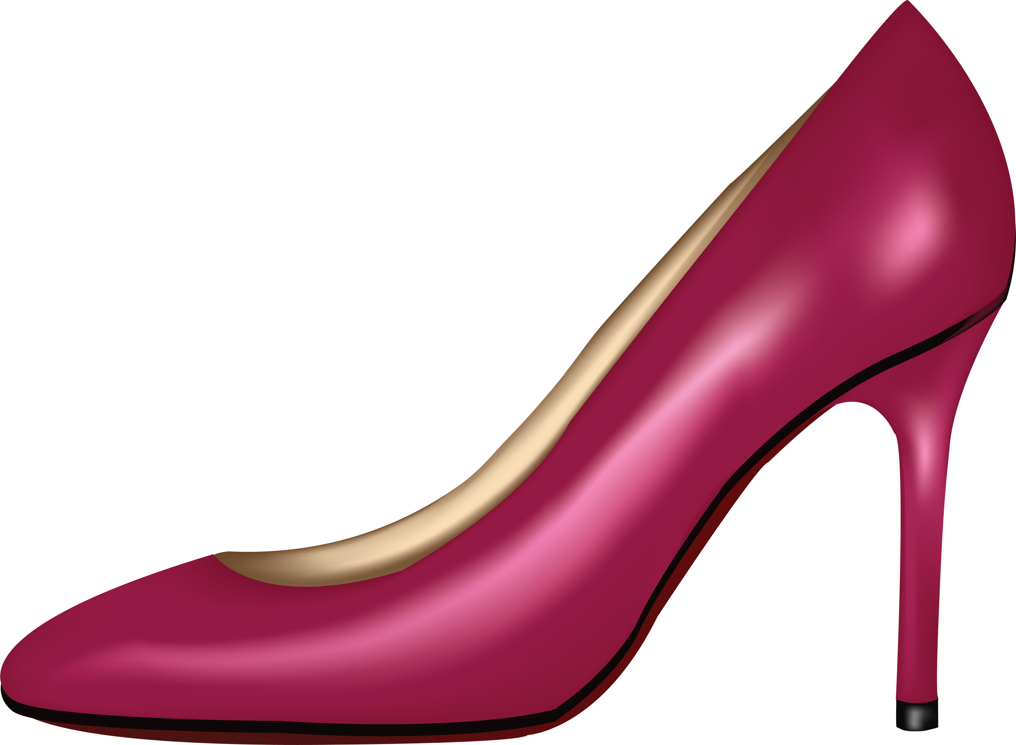library Womens shoes clipart. Pink women shoe png