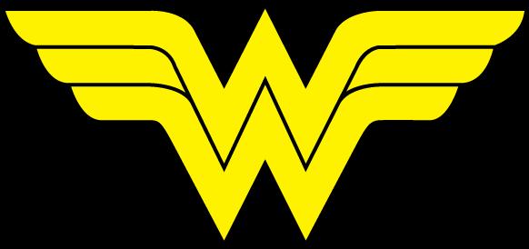 png transparent stock Superman and Wonder Woman Insignias