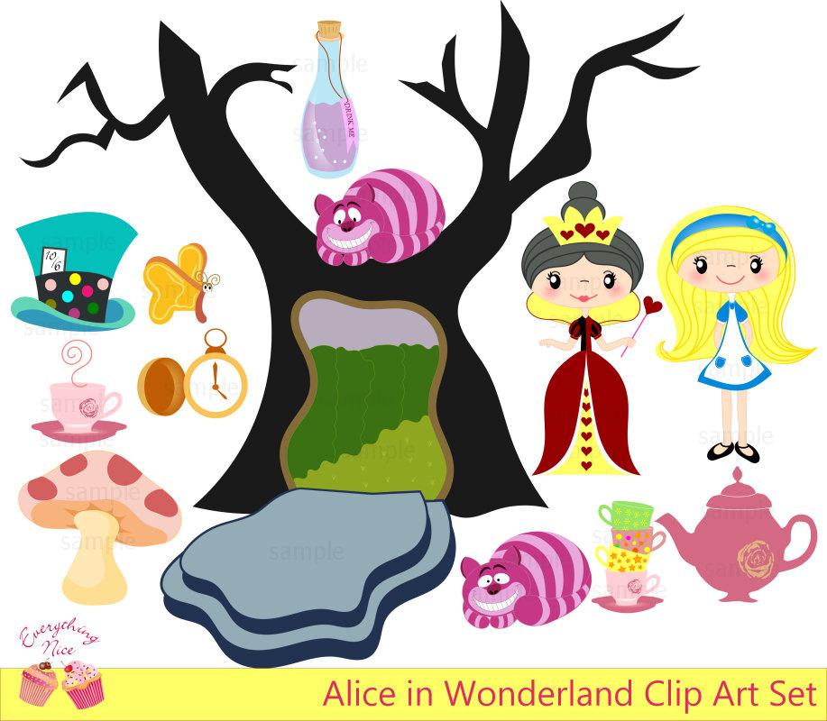 banner freeuse Wonderland clipart. Free alice in download