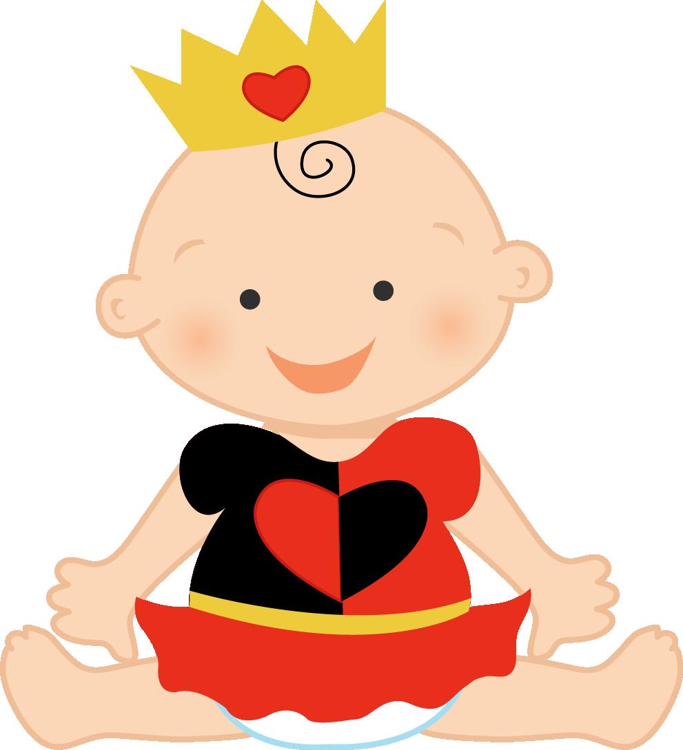 free Wonderland clipart baby. Ch b clip art