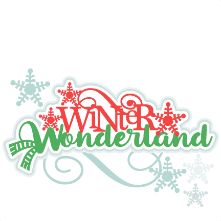 png library  collection of winter. Wonderland clipart border