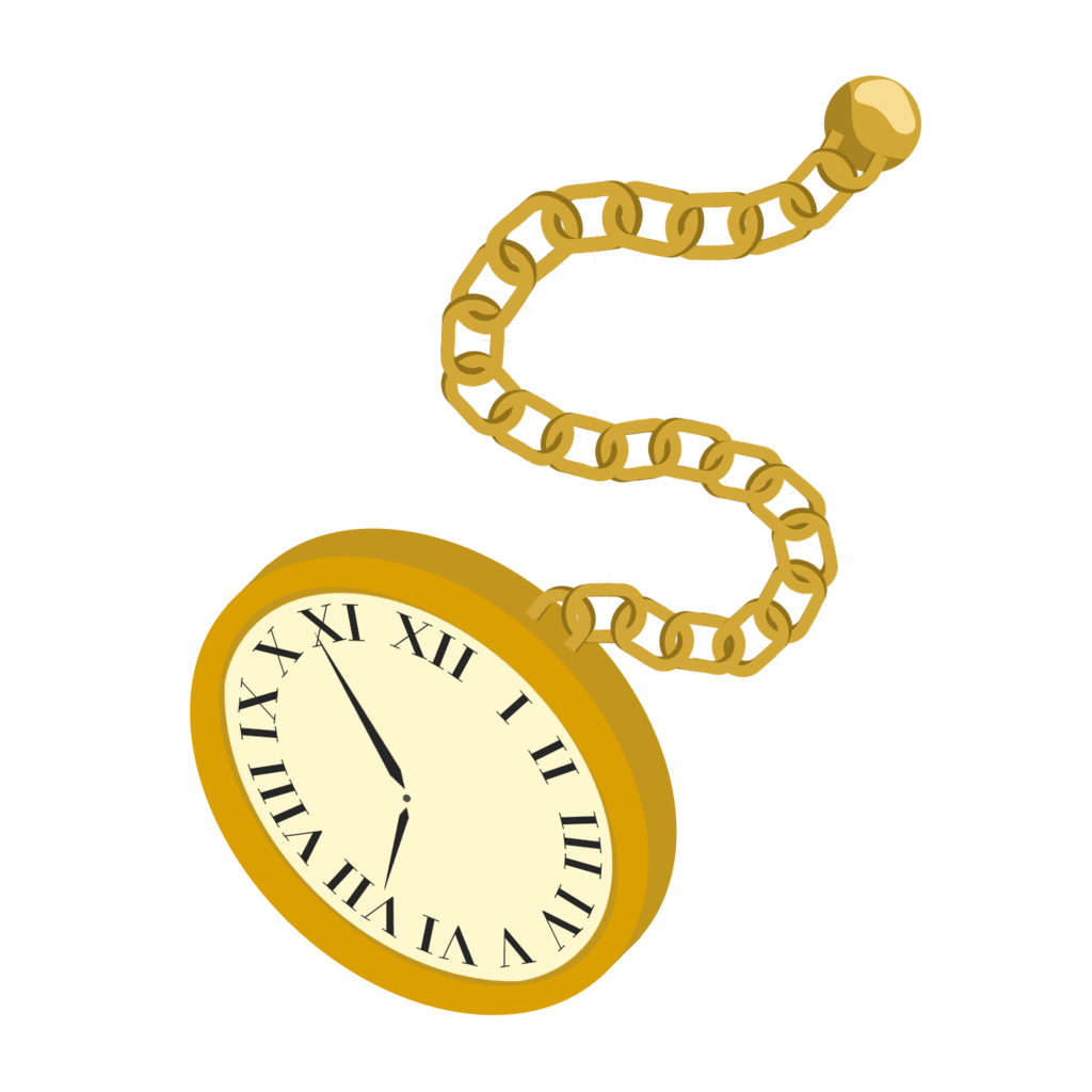 jpg royalty free stock Alice in party time. Wonderland clipart pocket watch