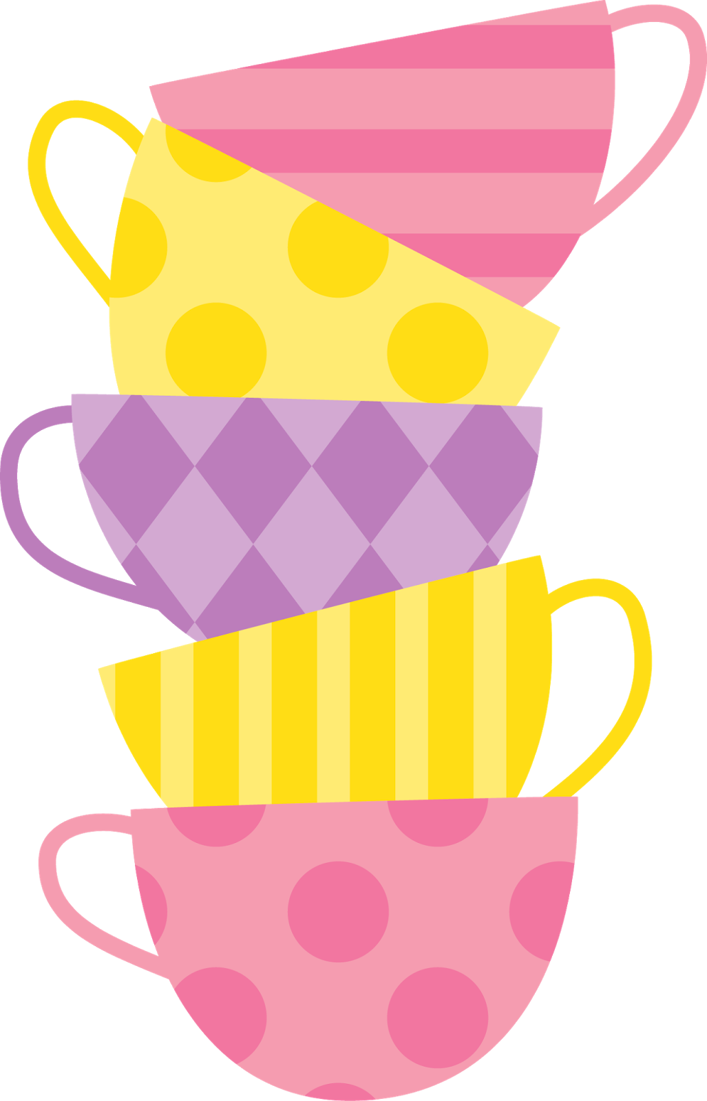graphic royalty free download Wonderland clipart stacked teacup. Alice in tea cup