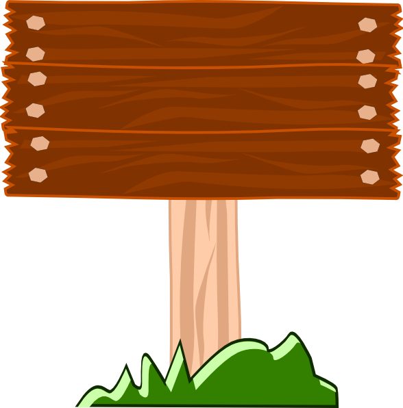 clip art freeuse library Board clip animated. Wood street sign art