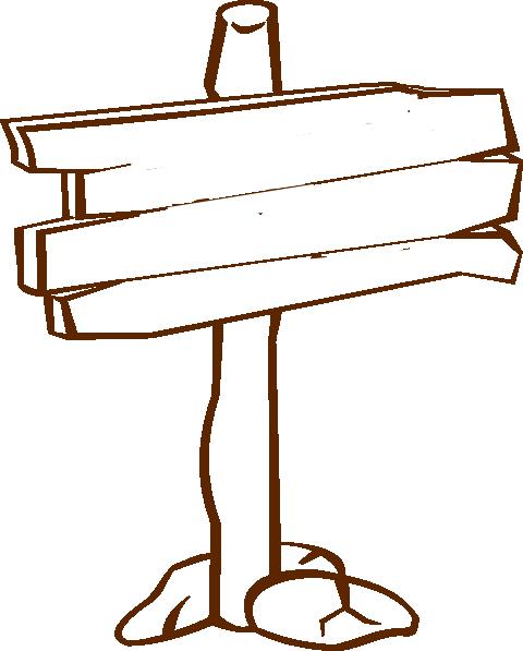 clipart download Wood Sign Clip Art at Clker