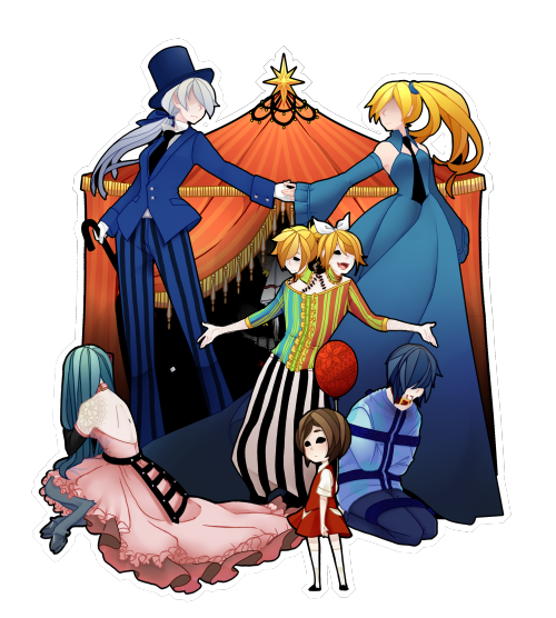 png royalty free download dark woods circus vocaloid