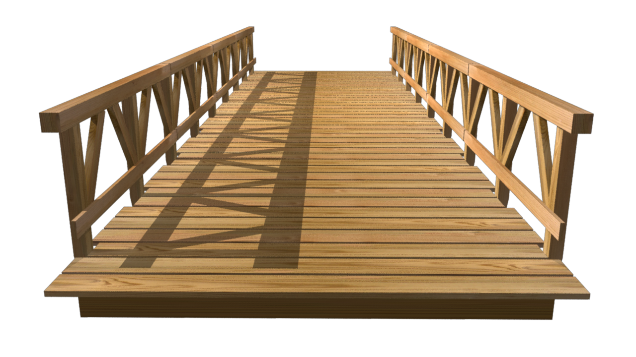 picture free Wooden Bridge PNG Image