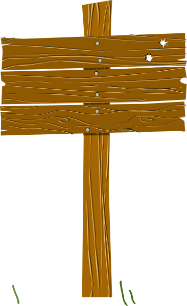 picture library download Wood Sign Clip Art at Clker