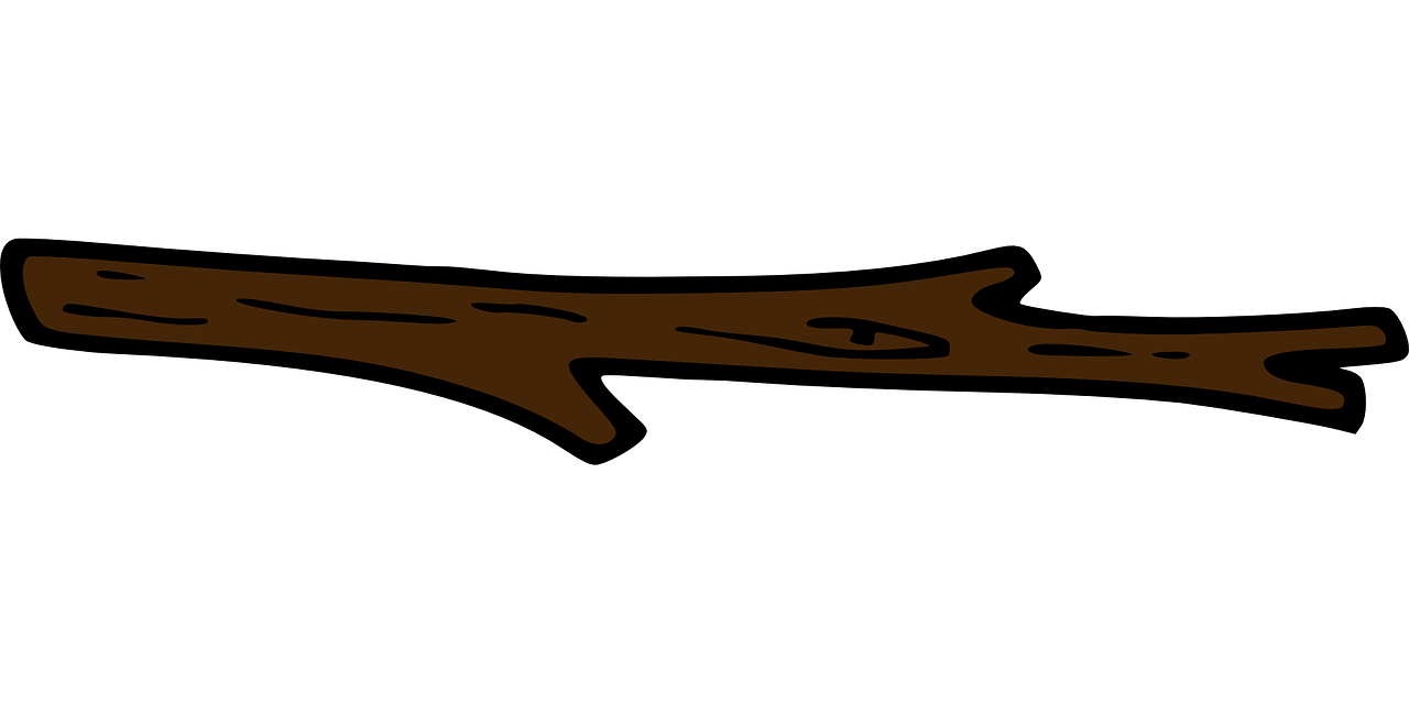 graphic transparent stock Branch old brown wood. Woods clipart wooden stick