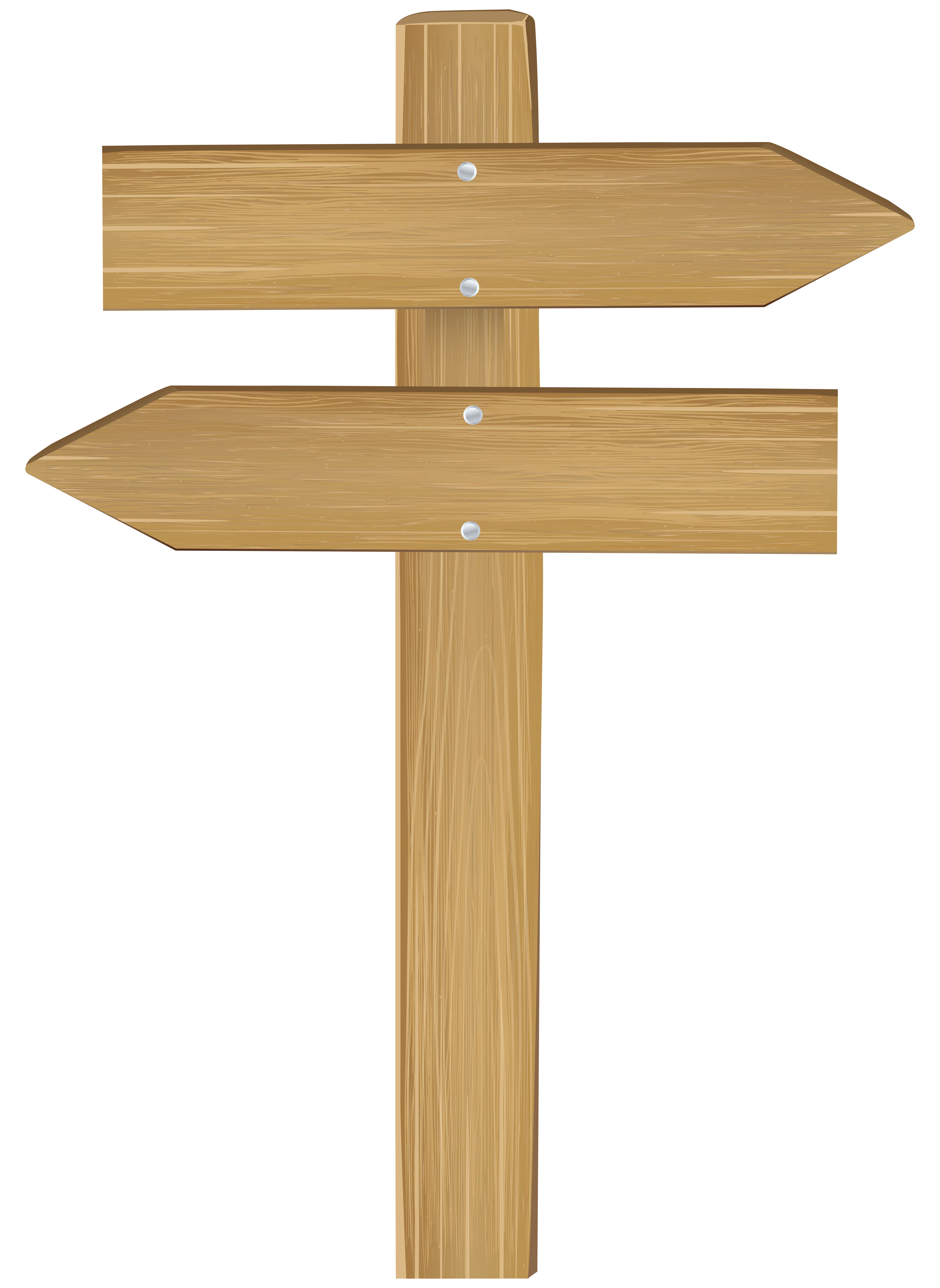 png royalty free stock Wooden arrow sign clipart. Double png clip art