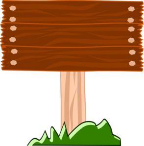 image library stock Wood street sign clip. Wooden clipart