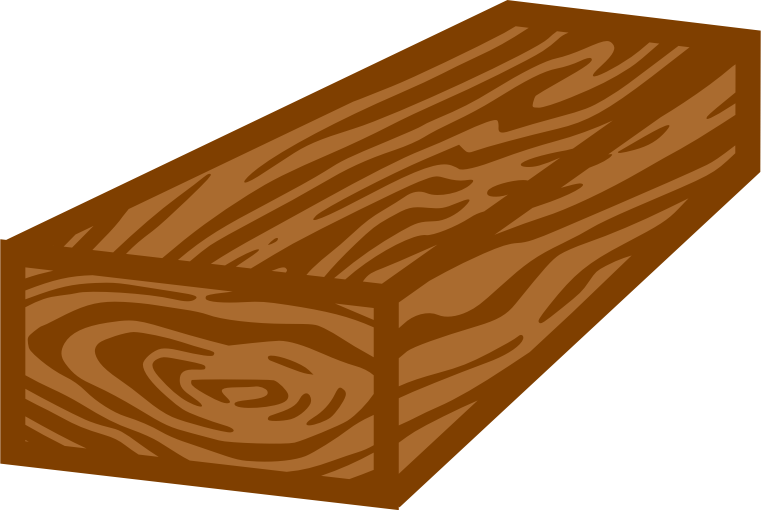 clipart freeuse Planks block free on. Wooden clipart
