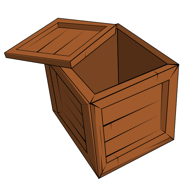 clipart transparent download Wooden clipart go to. Wood crate