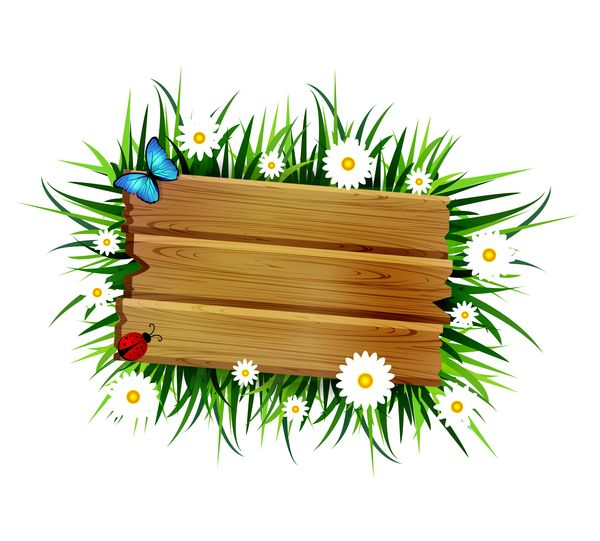 clip library library Free eps file flower. Wooden clipart go to