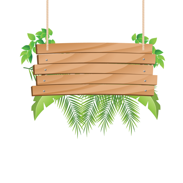 image library stock Wooden clipart go to. Hanging with tropical flowers