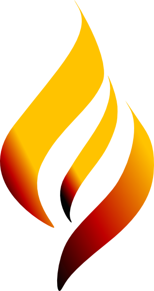 image freeuse Vector torches. Torch clipart gold free
