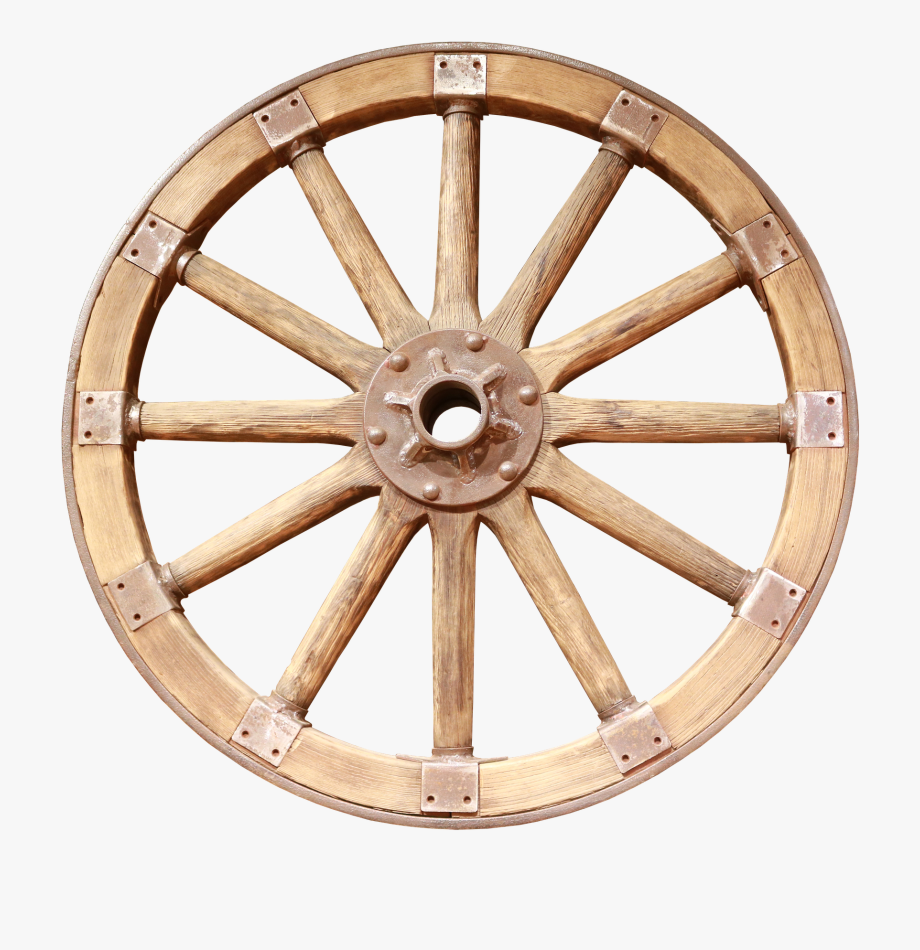 clip library download Wagon cart . Wooden wheel clipart