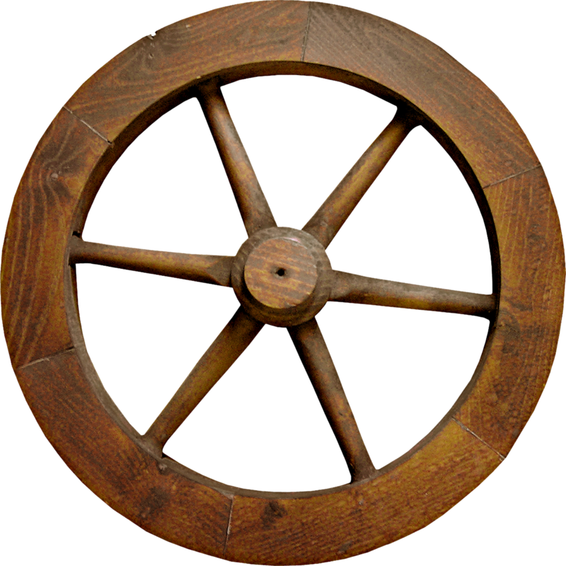 free download Indigodesigns wildwest el png. Wooden wheel clipart