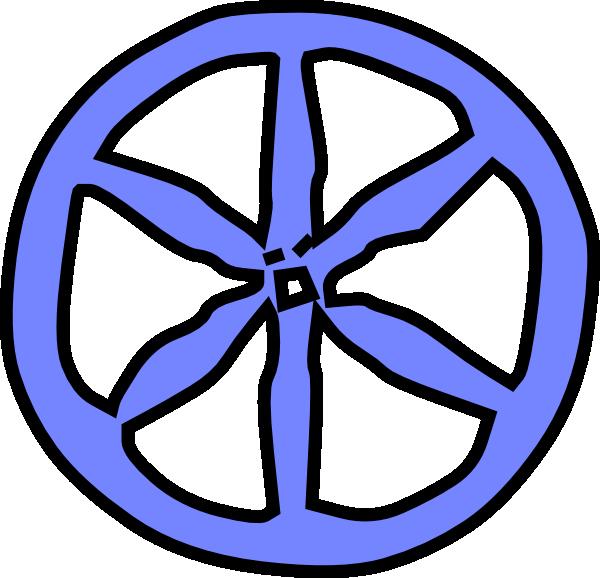 picture black and white Wooden wheel clipart. Blue antique clip art