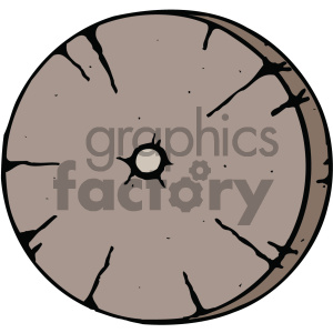 clip transparent download Wooden wheel clipart. Cartoon image royalty free